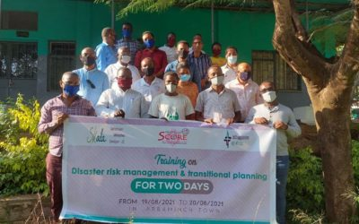 Disaster risk Management and Transitional planning